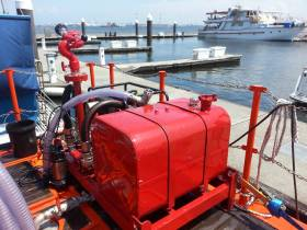 Custom Fabrication: Portable Fire-fighting Unit