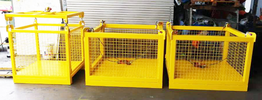 Metal Fabrication: Customizable Cargo Basket